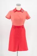 Kleid Bodenpersonal Swissair 1970 #2195