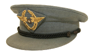 Swissair Mütze Ernst Nyffenegger 1950 #1687