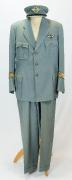 Uniform Swissair Chefpilot Ernst Nyffenegger 1940er #1687