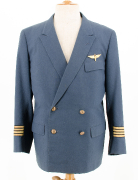 Uniform Swissair Claude Tapparelle 1966 #1812