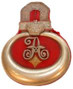 Epaulette Leutnant Garde-Dragoner-Regiment Kaiserin Alexandra von Rußland Nr. 2 #159