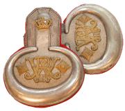 Epauletten Hauptmann Königs-Ulanen-Regiment (1. Hannoversches) Nr.13 #163