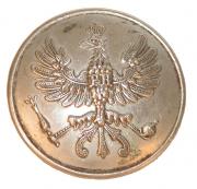 Preussen Kragen-Knopf #585