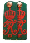 Schulterstücke 6. Badisches Infanterie-Regiment Kaiser Friedrich III. Nr. 114 #178