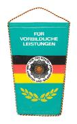 Wimpel für Vorbildliche Leistungen NVA DDR #1882
