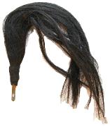 Haarbusch schwarz #663