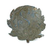 Sanitäter Emblem für Adrian Helm 1915 #1463