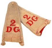 Schulterstücke 2nd Dragoon Guards #282