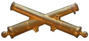 Käppiabzeichen Artillerie #503