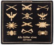 Käppiabzeichen Musterkarte 1916 #2003