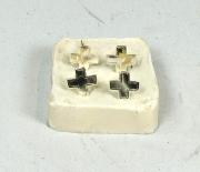 Schweizerkreuz auf Offiziers-Tschako #1186