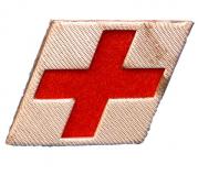 Kragenabzeichen HD-Arzt #494