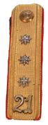 Achselklappe Kriegsbrückenabteilung Hauptmann 1898 #453