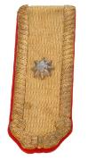 Achselklappe Major Artillerie 1898 #454