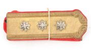 Achselklappen Artillerie Oberst Ord. 1898 #1982