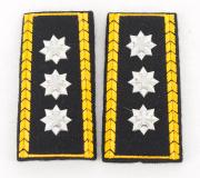 Achselklappen Korpskommandant Ord. 1949 #1998