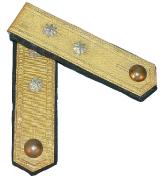 Achselklappen Schützen Oberleutnant #485