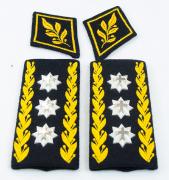 Schulterstücke Korpskommandant mit Kragenspiegeln 1995 #1398