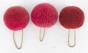 3 Pompons purpur #2124