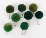 8 Pompons grün #2118