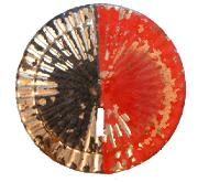 Kokarde schwarz-rot  #523