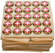 Kokarden für Feldmütze eidgenössisch #470
