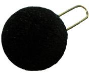 Pompon schwarz #492