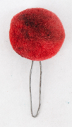 Pompons rot Ord. 1861 #2125
