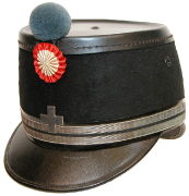 Käppi Oberstleutnant Veterinär 1898 #548