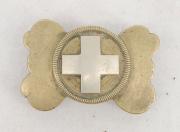 Gurtschnalle Schweizerkreuz 1852? #2055