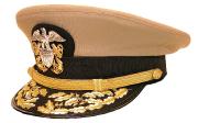 Navy Admiral Mütze #577