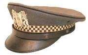 Kantonspolizei Basel Schirmmütze Verkehrsdienst #826