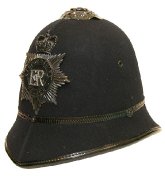 Grossbritannien Polizeihelm Bedfordshire #830