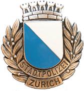 Stadtpolizei Zürich Helmabzeichen 1979 #811