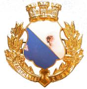Stadtpolizei Zürich Helmabzeichen #812