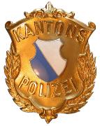 Kantonspolizei Zürich Käppiabzeichen #817