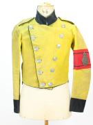 Uniform Deutschland Baden-Württemberg Frack Postillon 1854 #1738