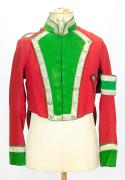 Uniform Schweiz Waadt Briefträger oder Postillon #1734