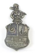 Abzeichen Mann mit Keule #1196