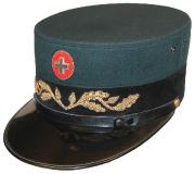 Mütze Zollbeamter 1. Klasse 1940er #71