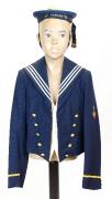 Basel Promenaden-Kostüm Junge Marine #1688
