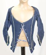 Miederjäckchen blau #1758