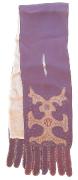 Stola violett  #651
