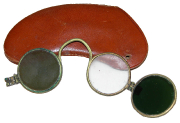 Brille mit Wechselgläsern und Etui  #34