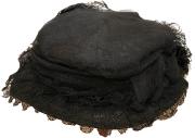 Damenhut mit Federn  #970