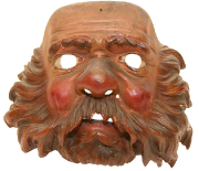 Maske Mann  #1043